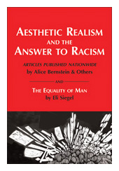Book cover - Answer to Racism