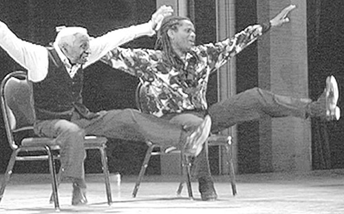 "Ernest ""Brownie"" Brown and Reggio McLaughlin - the Chair Dance"