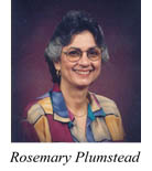 Aesthetic Realism Consultant Rosemary Plumstead